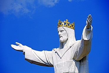 Christ the King, the world's largest statue of Jesus Christ at Swiebodzin, Lubusz Land, Lubusz Voivodeship or Lubuskie Province, Poland, Europe