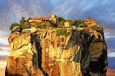 Agia Triada Monastery, Monasteries of Meteora, Thessalia, Greek mainland, Europe