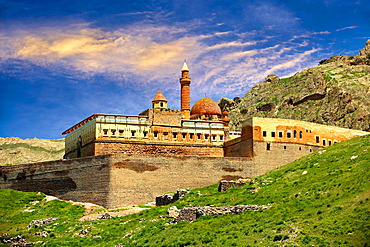 18th century Ottoman architecture of the Ishak Pasha Palace, A&r& province, eastern Turkey