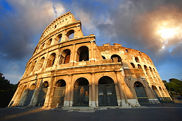 Colosseum or Coliseum, Rome, Italy, Europe