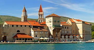 Harbour front, Trogir, Croatia, Europe