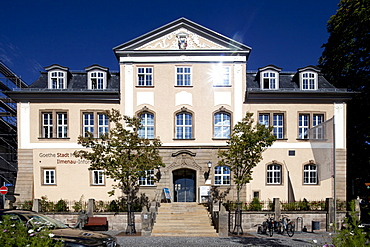 GoetheStadtmuseum, Goethe City Museum, Altes Amtshaus, chief local administrator's office, Ilmenau, Thuringia, Germany, Europe, OeffentlicherGrund