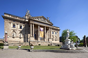 Hessian State Theater, former Royal Court Theatre, Wiesbaden, Hesse, Germany, Europe, PublicGround