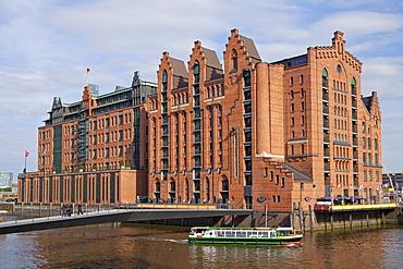 Maritime Museum, HafenCity quarter, Hamburg, Germany, Europe, PublicGround