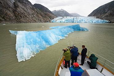 Dawes Glacier, Endicott Arm, Inside Passage, Southeast Alaska, Alaska, USA, North America