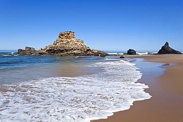 Praia da Castelejo Beach, Atlantic coast, Algarve, Portugal, Europe