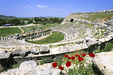 Roman theater, ancient city of Miletus, Turkey, Asia Minor