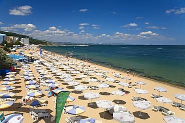 Golden Beach near Zlatni Pjasuci, Black Sea, Bulgaria, Europe