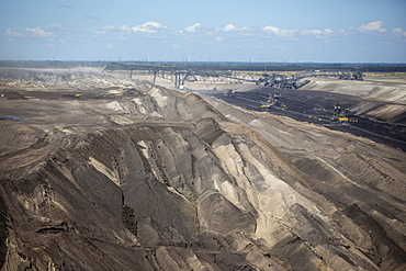 Lignite mining, Jänschwalde open pit, Jänschwalde, Brandenburg, Germany, Europe