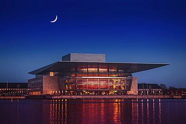 Copenhagen Opera House, Copenhagen, Capital Region of Denmark, Denmark, Europe