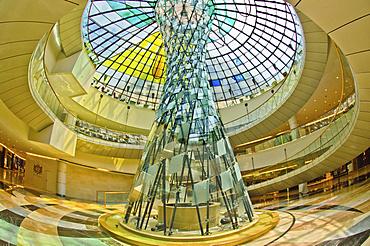 The Wafi Mall, architectural detail, Dubai, Emirate of Dubai, United Arab Emirates, Asia