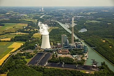 Bergkamen Heil power plant, Bergkamen, Ruhr district, North Rhine-Westphalia, Germany, Europe