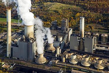 Frimmersdorf Power Station, RWE Power, lignite power plant, Grevenbroich, Rhineland, North Rhine-Westphalia, Germany, Europe
