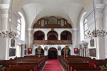 Castle and Parish Church of St James, Schloss Artstetten, Artstetten, Lower Austria, Austria, Europe