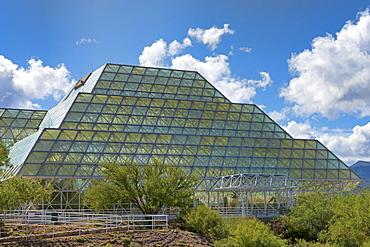 Biosphere 2, self-sustaining ecosystem, Oracle, Arizona, USA, North America