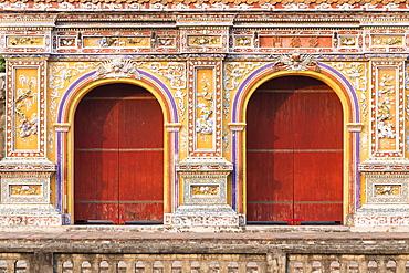 Chanh Tay gate, Hue citadel, Hue, Vietnam, Asia