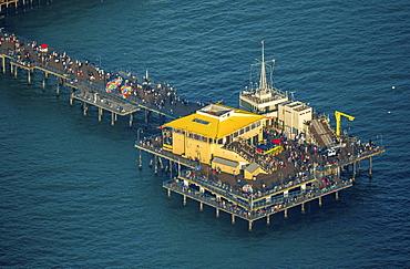 Santa Monica Pier, Marina del Rey, Los Angeles County, California, USA, North America