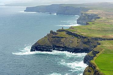 Cliffs of Moher, County Clare, Atlantic Ocean, Ireland, Europe