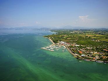 Marina and Camping del Garda, Peschiera del Garda, Lake Garda, Veneto, Italy, Europe