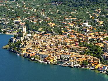 Malcesine Castle, Malcesine, Lake Garda, Veneto, Italy, Europe