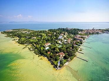 Sirmione, peninsula, Lake Garda, Lombardy, Italy, Europe