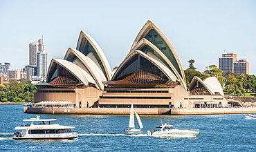 Opera, Sydney Opera House, Bennelong Point, Sydney, New South Wales, Australia, Oceania