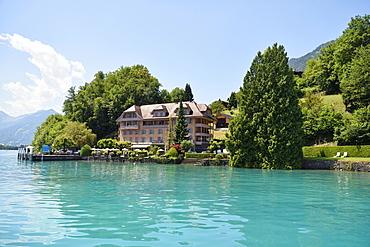 Hotel Seeburg, Ringgenberg, Lake Brienz, Canton of Bern, Switzerland, Europe
