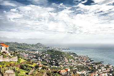 View of Câmara de Lobos, Madeira, Portugal, Europe