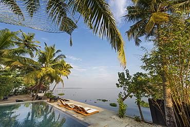 Pool, Hotel Purity, Malabar Escapes, Vembanad lake, Kerala, India, Asia