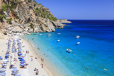 Beach of Kyra Panagia, Karpathos, Dodecanese, South Aegean, Greece, Europe