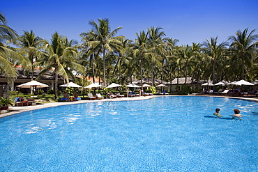 Swimming pool of the Blue Ocean Resort, Mui Ne, Vietnam, Asia