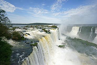 Iguazu Falls, Paraná, Brazil, South America