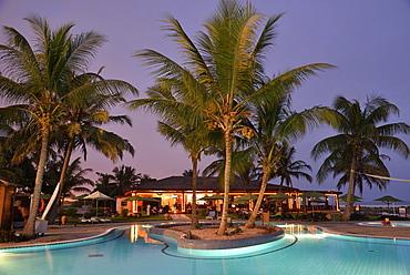 Swimming pool of the Hilton Hotel, Salalah, Dhofar Region, Orient, Oman, Asia