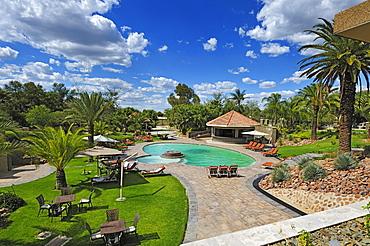 Pool, Safari Court Hotel, Windhoek, Namibia, Africa