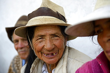 Elderly woman, 74 years, Quivilla, Huanuco Province, Peru, South America *** IMPORTANT: No disclosure by charities ***