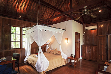 Palm Bungalow, Wakatobi Dive Resort, Sulawesi, Indonesia, Asia