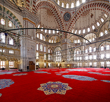 Fatih Mosque, Fatih Camii or Conqueror's Mosque, Fatih district, Istanbul, European side, Turkey, Asia
