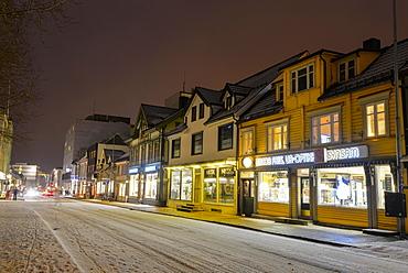 Winter in Tromso, Troms County, Norway, Europe