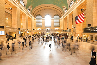 Grand Central Terminal, or Grand Central Station, New York City, New York, United States, North America