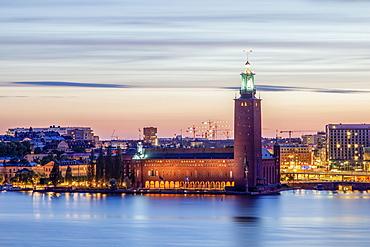 Stockholm City Hall, Stockholms stadshus, Stockholm, Stockholm County, Sweden, Europe