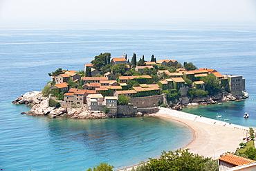 Sveti Stefan Island, Montenegro, Europe