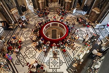 Restaurant-Cafe, Kunsthistorisches Museum, Museum of Fine Arts, Vienna, Vienna State, Austria, Europe