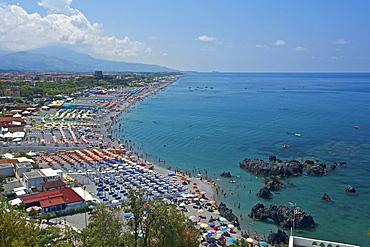 Beach, San Nicola Arcella, Calabria, Italy, Europe