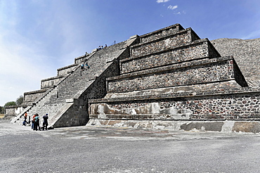 Pyramid of the Moon, Pyramids of Teotihuacan, UNESCO World Heritage Site, Teotihuacan, State of Mexico, Mexico, Central America