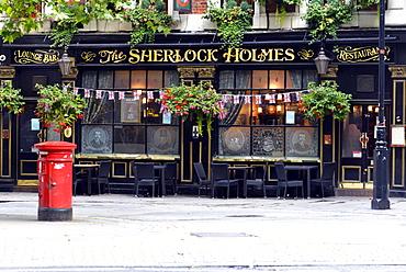 The Sherlock Holmes Pub, Charing Cross, London, London region, England, United Kingdom, Europe