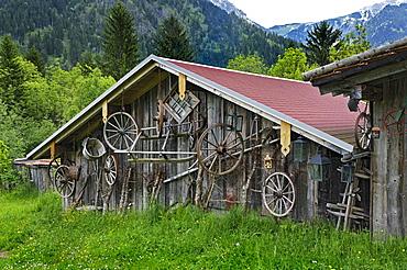 Carriage Museum, near Hinterstein, Allgau, Bavaria, Germany, Europe