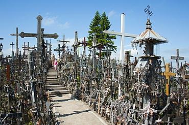 Hill of Crosses, Siauliai, Lithuania, Baltic States, Europe