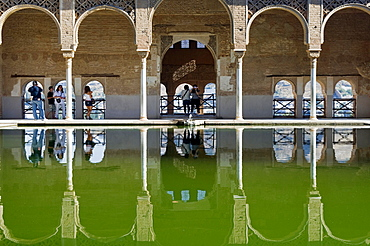 El Partal, Alhambra, UNESCO World Cultural Heritage Site, Granada, Andalusia, Spain, Europe