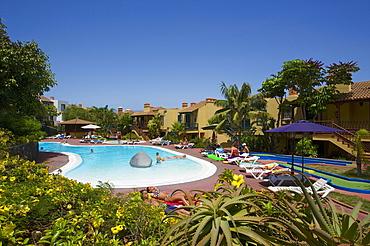 Swimming Pool, Hotel Oasis Los Cancajos, La Palma, Canary Islands, Spain, Europe