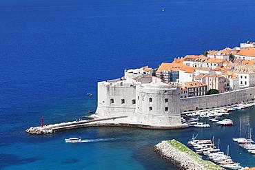 St. John Fortress at the Old Harbour, Dubrovnik, Dalmatia, Croatia, Europe